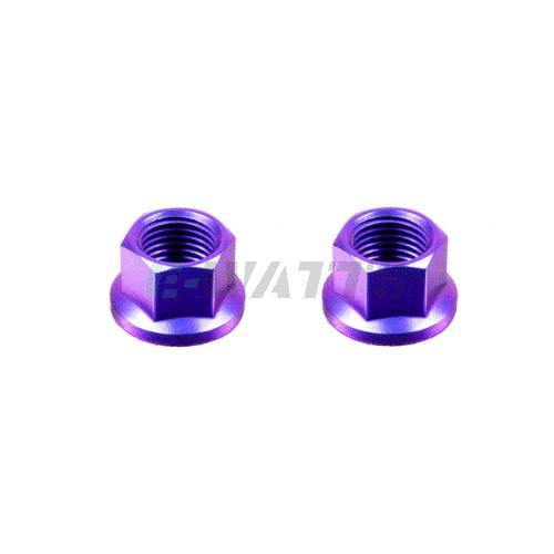 Écrous de roue titane violet