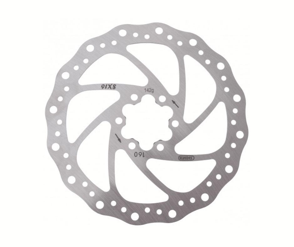Disque de frein 160mm SX16 Elvedes